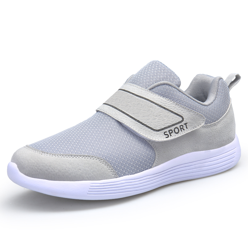 a5d2dff4962 Shoes for elderly with velcro fastening shoes men women wide fitness shoes  old people on line