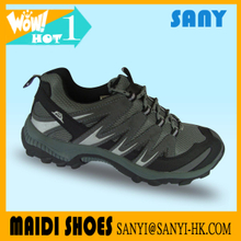 2017 New Product--Stylish Men's Hiking/ Mountain/Outdoor Shoes with Mesh+PU Upper and Durable MD Outsole