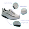 Hot sale Latest Men's White Soft PU Durable Fitness/Walking Shoes Factory Price OEM Sports Shoes Direct For Men Fitnes Shoes