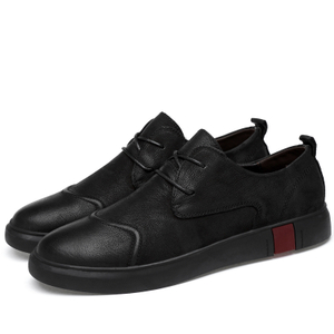 Formal shoes on line new casual shoes simple stylish flat Leather Classic Fashion Male Flats Heel Sneakers EMAOR
