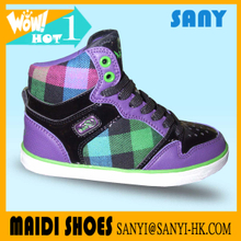 Girl print canvas upper casual canvas shoes