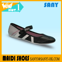 2018 New style Factory Flat ballet dance shoes cheap point shoes for girls