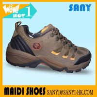 2017 high quality pu hiking shoes latest design knock off designer shoes