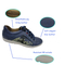 Men's sneaker shoes stocklot leather skate shoes blue genuine leather skate shoes