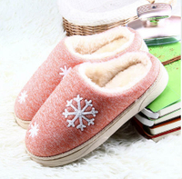 Womens Winter Warm Ful Slippers Womens Slippers Cotton Sheep Lovers Home Slippers Indoor Plush Size House Shoes Woman