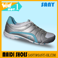 Hottest and the Most Durable Silver Running Shoes for Woman Direct from Factory