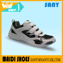 wholesale Stylish Buckle Strap Black and White Sport Shoe from China