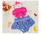 Bowknot Swimsuit Girls Bikini Set Girl Cute Ruffles Baby Bow Girl Princess Swimsuit summer bathing suit set
