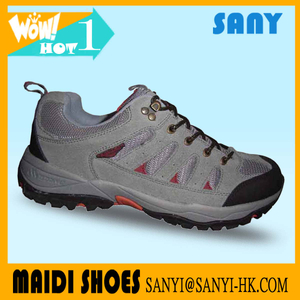 Continued hot cheap wholesale china shoes factory new design mens waterproof hiking shoes for men