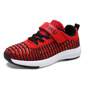 Children Running Shoes Mesh Magic Tape Kids Sneakers Flexible Breathable Boys Outdoor Shoes Travel Non-Slip 2018 new online small wholesale