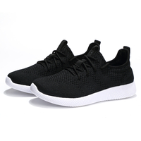Fly knit Breathable Sneakers lovers Casual Fashion Lightweight walking Athletic Shoes For Couple Men Women EMAOR