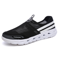 2018 The new hot style fashion breathable couple net cloth shoes A pedal of men and women A lazy person shoes