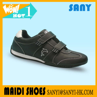 Jinjiang Latest Arrival--Young Girl's Smart Black PU Casual/Leisure Shoes with Nice Hasp and Durable TPR Outsole