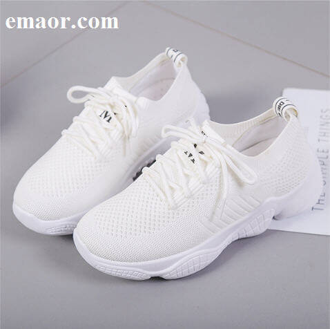 Shoes Women Fashion Summer Fly Woven Breathable Shallow Socks Shoes Woman Chunky Sneakers White Pink Thick Platform Casual Shoes