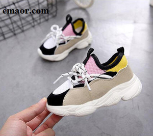 Sneakers For Children Fashion Brand Casual Air Mesh Pink Blue Breathable Soft Running Sports Shoes
