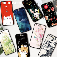 For Case Huawei P10 Plus Case Silicone Cover For Huawei P10 Plus Cover Cute Cartoon Huawei P10 Plus TPU Cell Phone Sets Case Various Phone Shell