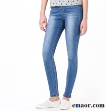 Jeans for Women Jeans High Waist Jeans Brand Woman High Elastic Plus Size Stretch Jeans Sexy Female Washed Denim Skinny Pencil Pants