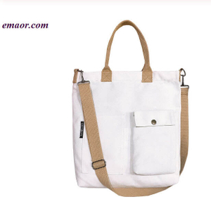 New Canvas College Student Wild Messenger Bags Tote Bags Cheap Shopping Bags