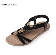 Women Sandals New Summer Fashion Comfortable Bohemia Gladiator Beach Flat Casual Leisure Sandals
