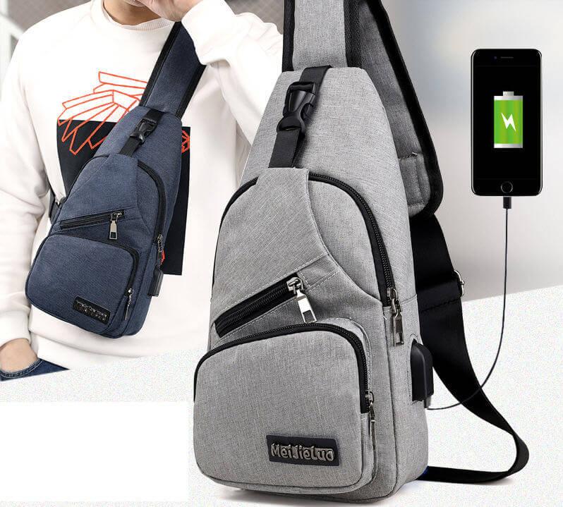 Crossbody Anti Theft Chest Bag School Short Trip Messengers Bags