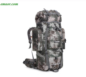 80L Outdoor Backpack Camping Travel Bags Rucksacks Sports Bags Climbing Package
