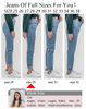 Summer Jeans for Women Ripped Jeans Straight Leg Close Fitting Trousers Casual Pants Pantsuit Zipper Pants Lounge Wear Lounge Pants Trousers