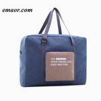 Unisex Water-Proof Travel Bag Nylon Large Capacity Folding Hand Luggage Cubes Packing Bags