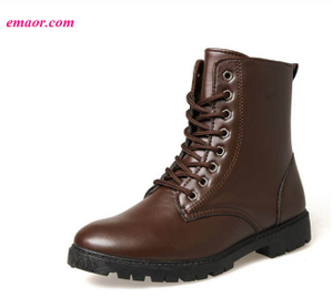 Fashion Casual Martin Boots Men's Desert Boots Medium Tube Outdoor Boots
