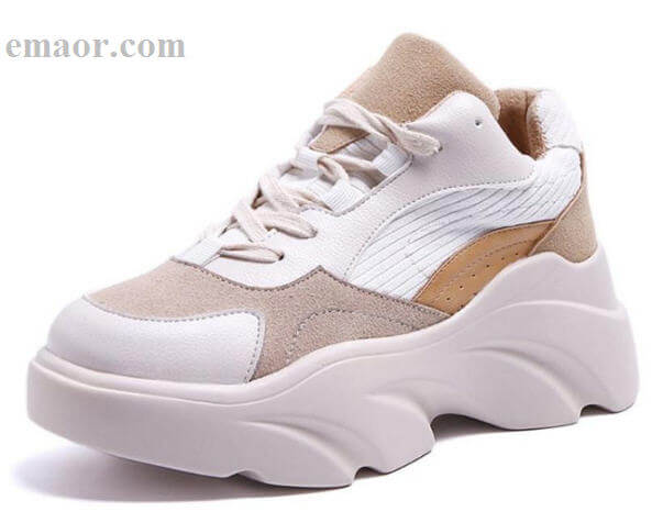 07b3d3ce4677 Women Sneakers New 2019 Cool Casual Mixed Color Lace Up Wedges Platform  Vulcanized Shoes Size 35
