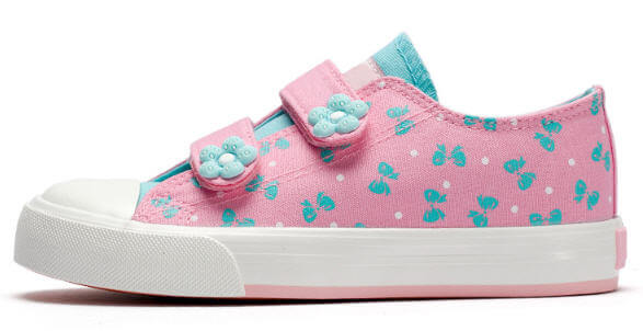 Kids Casual Shoes For Girls Fashion Children Canvas Shoes Wholesale Floral Cute Printed Kids Sneakers Breathable Baby Girls Sneakers Shoes