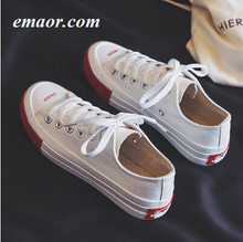 Canvas Shoes Women New Fashion Candy Color Vintage Casual Flats Solid Female Canvas Sneakers