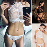 Lace Sexy Bralette Bras See Thourgh Nursing Lingeries Sleepwears Roleplay Party Bikinis for Womens