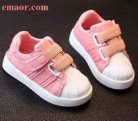 Vulcanized Shoes Girls Children Shoes Kids Casual Sneakers Boys Autumn Outdoor Comfortable White PU Soft Sole Toddler Kids Casual Shoes