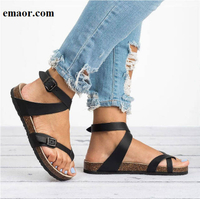 Sandals Women Summer Factory Direct Shoes Comfortable Women Flat Sandals For Beach Chaussures Femme Clog Casual Flip Flop Shoes