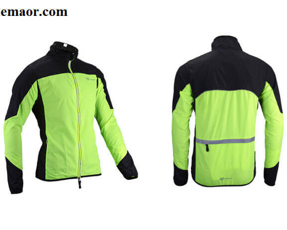 Cycling Jersey Jacket Wind Jacket Bike Raincoat Long Sleeve Cycling Rain Coat Bicycle Rainproof Windproof Quick Dry Coat