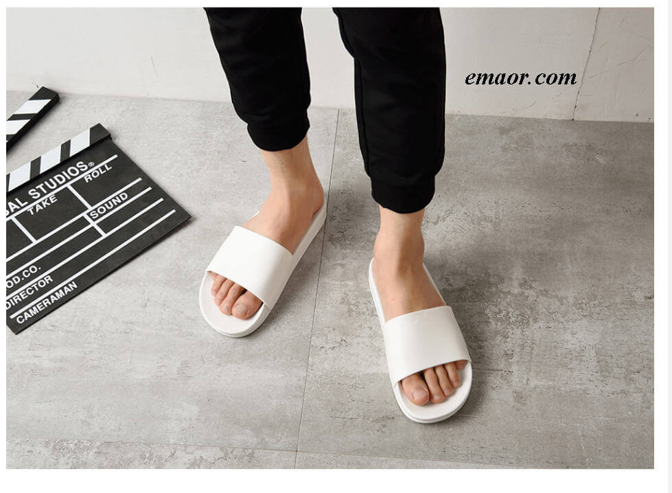 Ugg Slippers Men's Home Slipper Men Slippers Casual Black And White Shoes Gucci Slippers Ugg Sale Slippers
