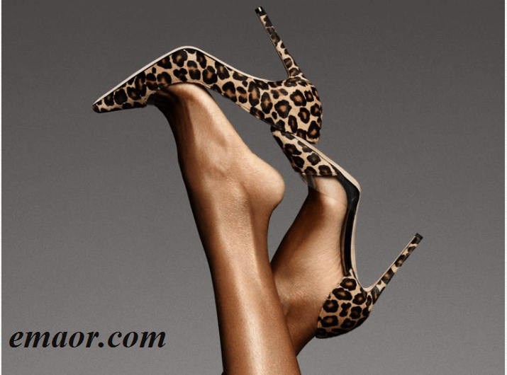 Best Silver Sparkly Heels Leopard-print High-heeled Open-toe Shoes Leather Barbie Doll Ladies Party Shoes Bride Wedding Party Sandals Online