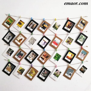 Photo Birthday Party Supplies Wedding Supplies Party Hang Photo Decorations on The Wall Christmas Tree Decorations