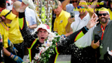 Simon Pagenaud becomes the first French driver to win the Indianapolis 500 in more than a century.