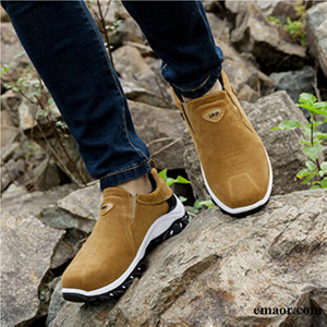 Men Casual Shoes Fashion Comfortable Shoes Autumn/spring Black Gray Brown Casual Male Shoes Classic Men Trainers Comfortable Loafers