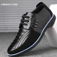 Men Genuine Leather Shoes High Quality Elastic Band Fashion Design Solid Tenacity Comfortable&Breathable Men's Causal Shoes