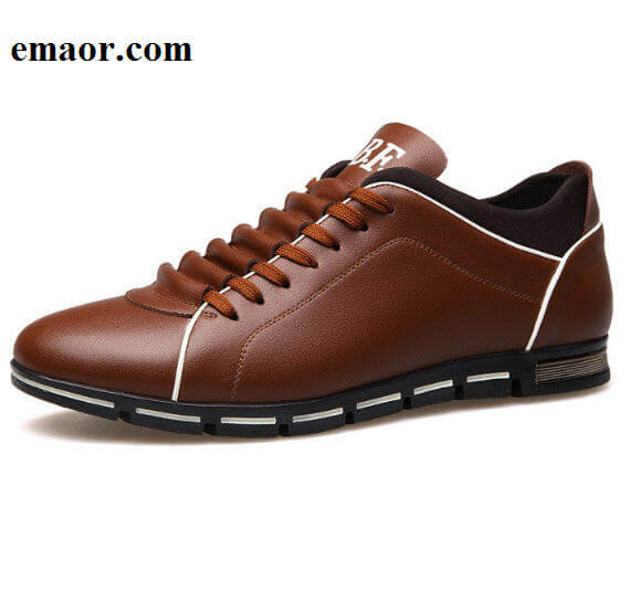 Men Casual Shoes Fashion Brands Leather Shoes for Men Simple Style Summer Business Men's Flat Shoes