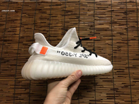 Clay Yeezy 350 V2 Summer Breathable Men's Hiking Shoes Yeezys 350 V2 Not Boost Outdoor Women's Air Mesh Sports Shoes Sneakers Medusa Shoes Unisex Clay Yeezy 350 V2