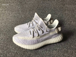 Yeezy 350 V2 Static Sliver Newest 350 Men's Sport Shoes Boost V2 Hiking Shoes Sneakers Summer Breathable Mesh Shoe Zapatillas Hombre Deportiva Yeezy 350 V2 Static Sliver