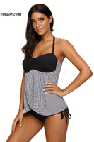 Swimsuit Asos Speedo Swimsuit Black Bandeau Top Plaid Flyaway Tankini Swimsuit Alex Morgan Swimsuit