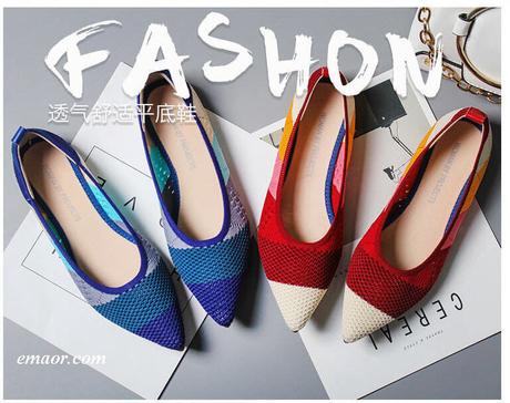 de4f33c65f323 Macys Flat Shoes Flats Pointed Toe Roman Hot Design Mixed Colors Pointed  Toe Slip on Mules