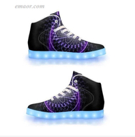 Light Up Shoes with Remote Ajna-APP Controlled High Top LED Shoes LED Light Shoes
