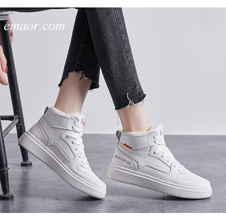 Best Casual Work Shoes Women's Winter Cotton Warm Flat Shoes Best Casual Shoes for Women Shoes
