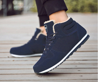 Best Sneakers for Men Men's Boots Winter Men Shoes Warm Ankle Botas Best Running Shoes for Men