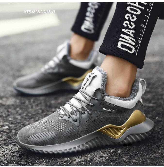 Good Running Shoes for Men Men's Winter Sneakers Autumn Men Casual Shoes Cheap Men's Trail Running Shoes